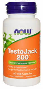 NOW TestoJack 200 (60 капсул)