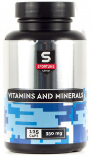 SportLine Vitamins and Minerals (125 caps)